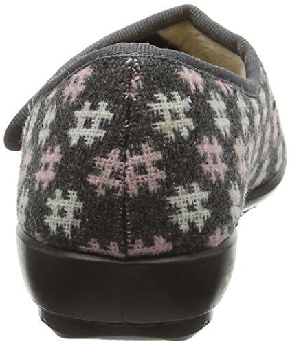 Grey Pink Hotter Burgunderfarben Thyme Hausschuhe Damen Multicolor qvFXaFYw