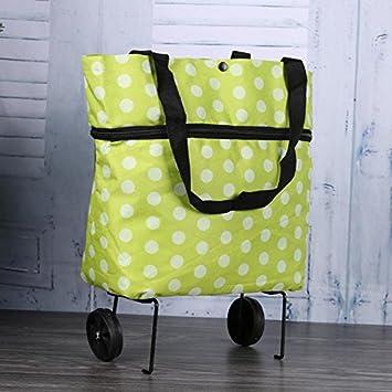 Starter Chariot facile à transporter pliable à la mode de sac d'emballage de tissu d'Oxford