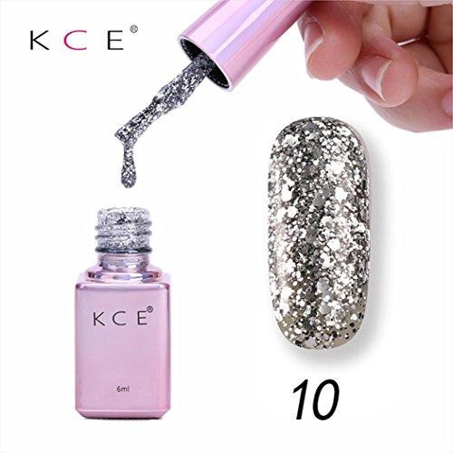 Oksale 6ML Gel Nail Manicure Diamond Glitter