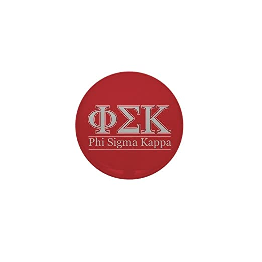 Amazon Com Cafepress Phi Sigma Kappa Letters 1 Round Mini Button
