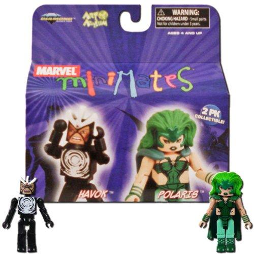 Marvel MiniMates Series 20 2-Pack Havok & Polaris