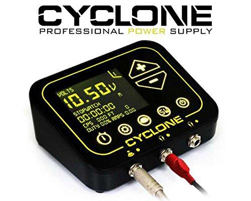 CYCLONE TILT Digital Tattoo Power Supply Unit (Black)