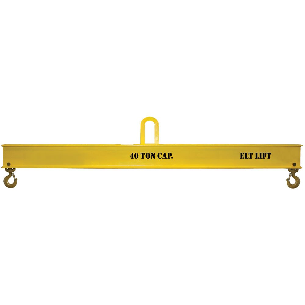 ELT Fixed Hook Beam 15' 40,000 LB Capacity Made in USA by LTE