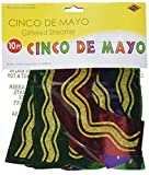 Glittered Cinco De Mayo Streamer Party Accessory (1 count) (1/Pkg)