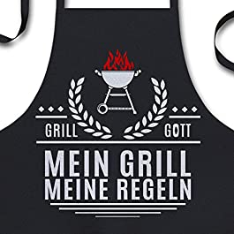 Grillschürze für Männer – Mein Grill Meine Regeln –