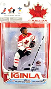 Jarome Iginla (Team Canada) Red Jersey Action Figure McFarlane Toys NHL Sports Picks Series 2010 Olympic (Vancouver) Series 1