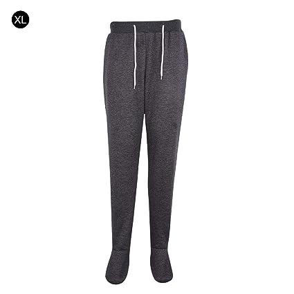 Pantalones de chándal para adultos, ultra felpa, de franela, para invierno, largos