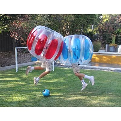 Sportspower Thunder Bubble Soccer Kids' 2pk: Toys & Games