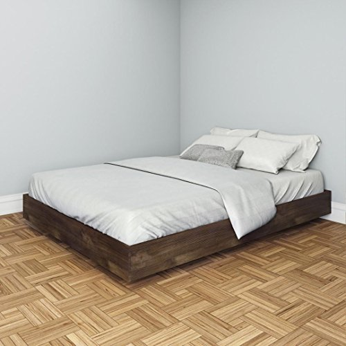 Nocce Queen Size Bed 401260 from Nexera, Truffle (Truffle Nexera)