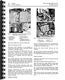 john deere 1120 tractor service manual amazon co uk 0739718104143 rh amazon co uk john deere 1120 parts manual john deere 1120 service manual pdf