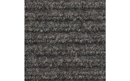 buyMATS Inc. 4' x 6' Apache Rib Mat Solid Gray 01-033-1702-40000600