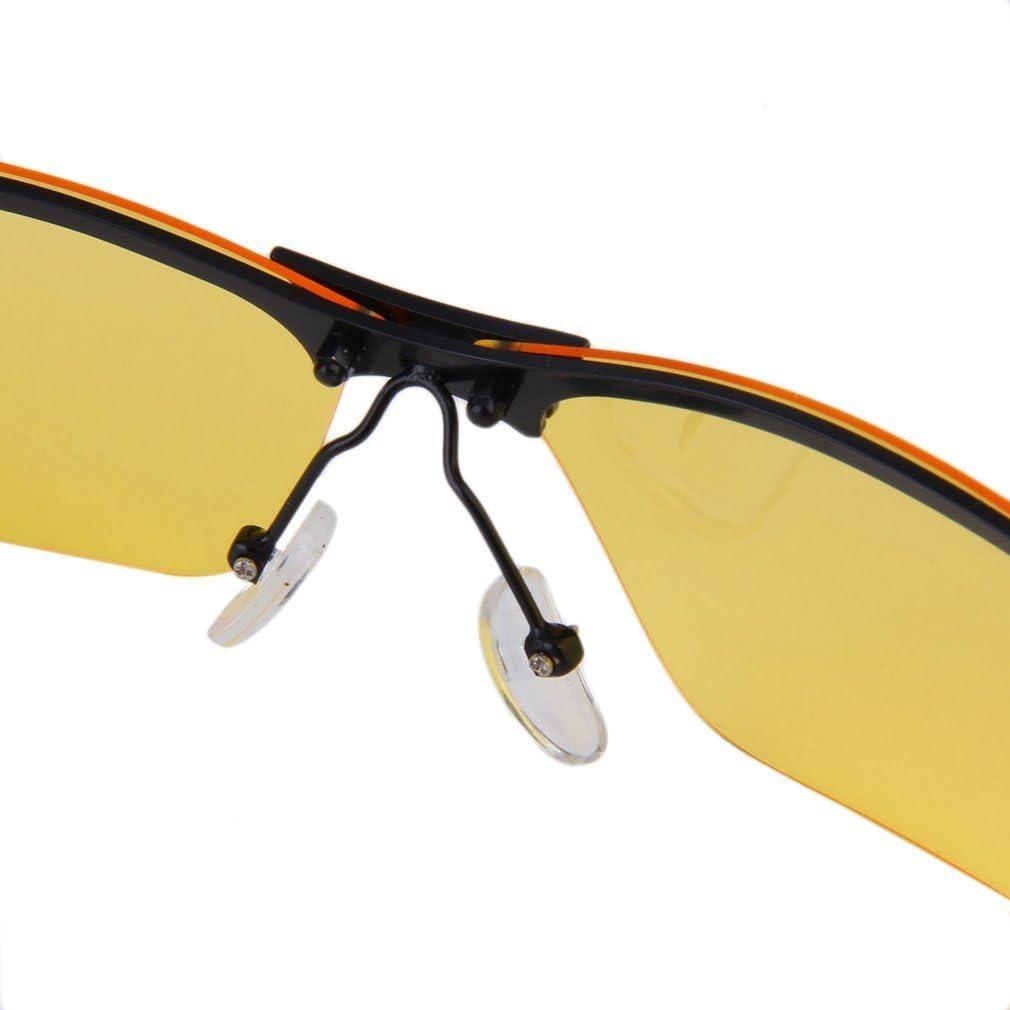 Leoboone Unisex High-End-Nachtsicht-Polarisationsbrille Fahrbrille Zubeh/ör Anti-Blowout-Nachtsichtbrille Leichtgewicht