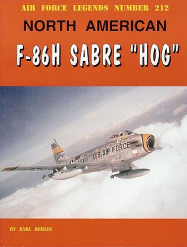 North American F-86H Sabre Hog (Air Force Legends)