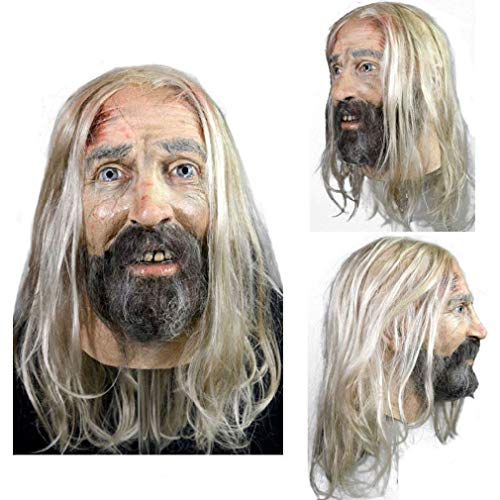 Adult Otis B Driftwood Devil's Rejects Latex Mask Trick Treat Studios -