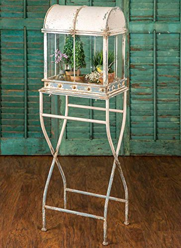 Large Terrarium With Stand by Colonial Tin Works