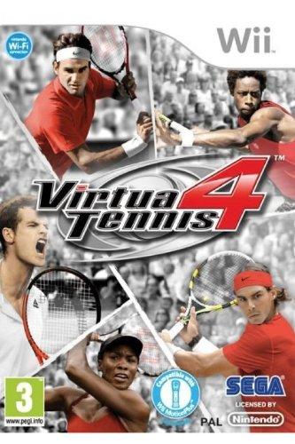 Virtua Tennis 4 Wii (Wii Virtua Tennis)