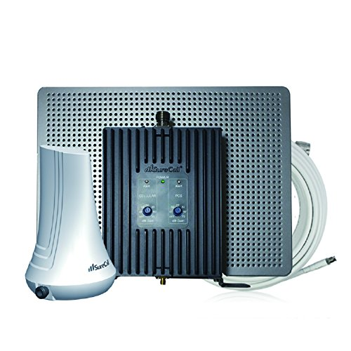 SureCall EZ 3G Cell Phone Signal Booster for All Carriers' Talk & Text Signals, No Outside Antenna Needed ()