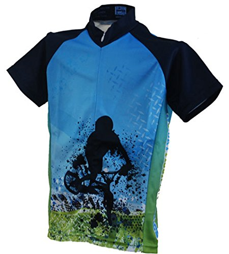 Rocky Mountain Rags Children's Grunge Biker Cycling Jersey