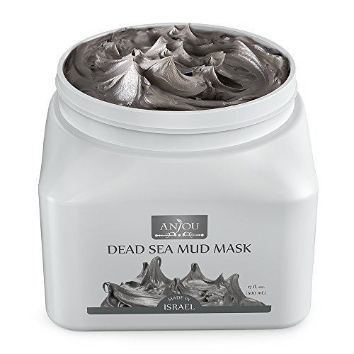 Anjou Dead Sea Mud Mask 17 oz for Face, Body & Hair, Made in (Dead Sea Body Mud)
