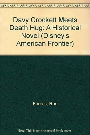 book cover of Davy Crockett Meets Death Hug