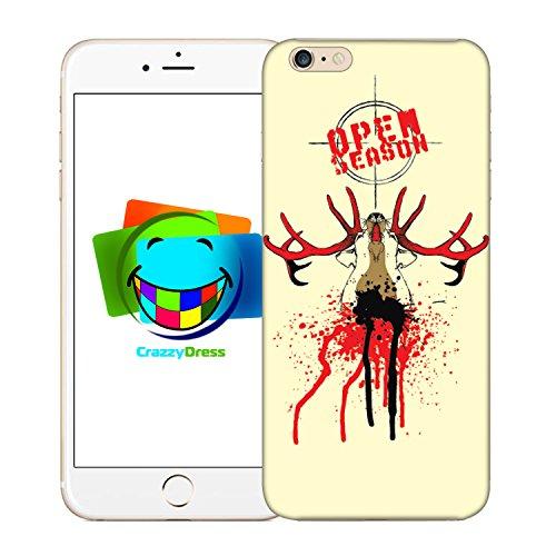 Bralexx 9212#_iPhone_6_6S_Deer_2 Schutzhülle für Apple iPhone 6/6S