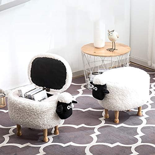 SXFYHXY Chaise Basse de Tabouret de Stockage de Chaussures de Dessin animé créatif Moderne Simple de Mode de Dessin animé Mignon d\'animal familier,Color2,Unstorable