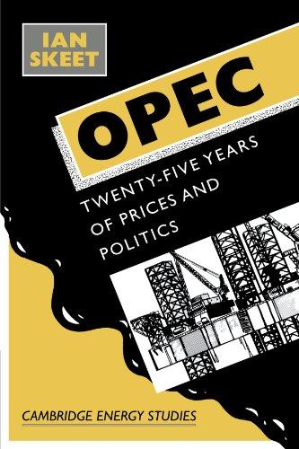 Opec:: Twenty-Five Years of Prices and Politics (Cambridge Energy and Environment Series)