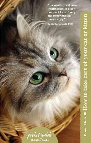 Quickfindbooks How to Take Care of Your Cat or Kitten