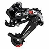 Image of SRAM X.0 Type 2 Short Cage Rear Derailleur Black/Red