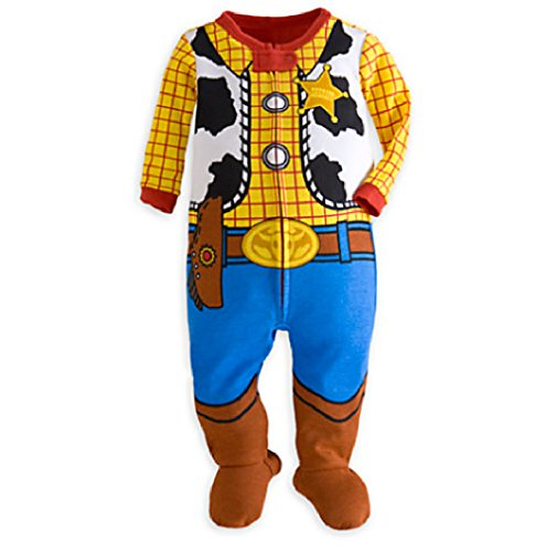 Disney Woody Stretchie for Baby - Toy Story Size 6-9 MO (Big Baby Toy Story)