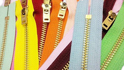"ZipperStop Wholesale Authorized Distributor YKK® 9"" Jeans Z"