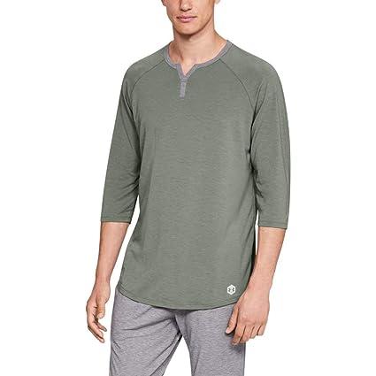7546339fdb0 Amazon.com  Under Armour Men s Recovery Sleepwear Henley  Sports ...