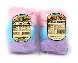 Amish Farms Cotton Candy, 2.5 oz. (Set of 2)