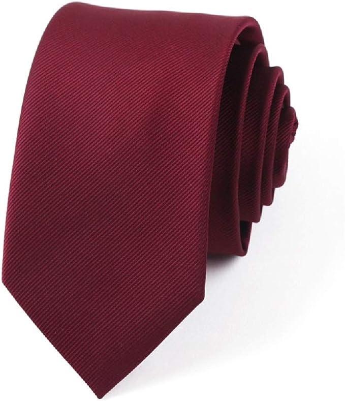 Fuxitoggo Lazo rojo vino estrecho de estudiante for hombre traje ...