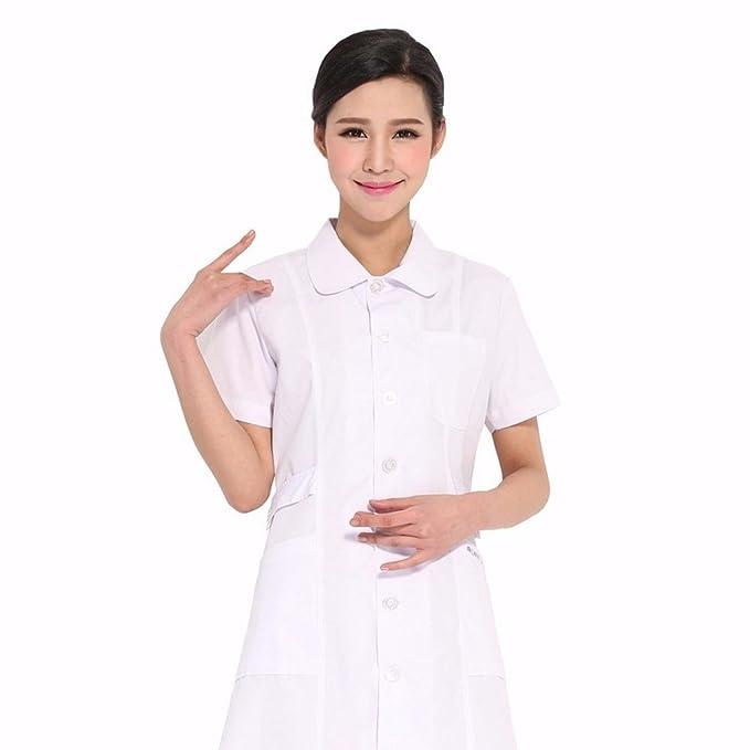 Xuanku Enfermera De Manga Corta De Verano Chaquetas Blancas ...