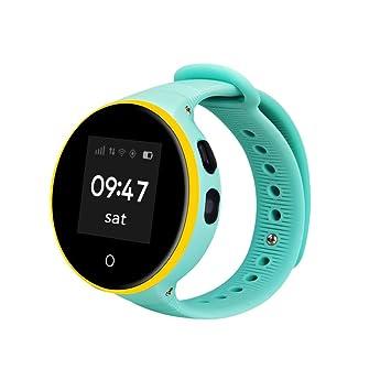 Para niños seguridad GPS reloj inteligente elegante, Y56 ZGPAX s668 a GPS WIFI multifuncional reloj inteligente ...