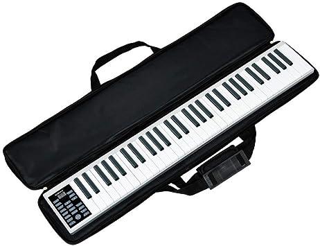 Hokaime Manual de Piano Inteligente de 61 Teclas Teclado ...