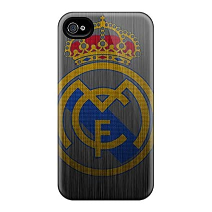 Amazon.com: Iphone High Quality Cases/ Real Madrid Metal ...