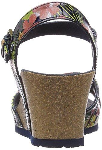 Ouvert Marino Panama Sandales Tropical Jack Femme Bout Vera Bleu XqwPtX8r