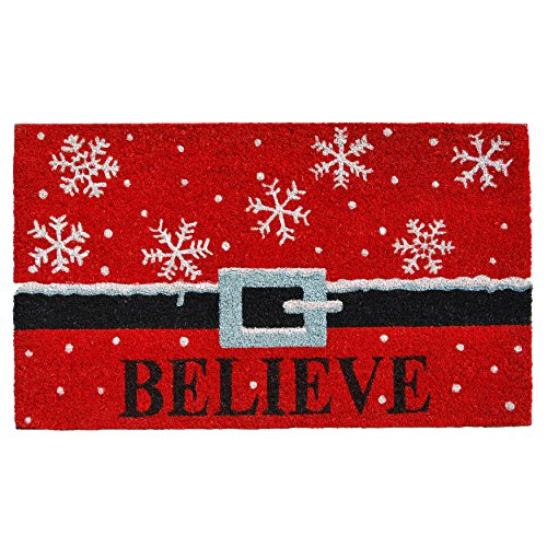 Home & More 101811729 Believe Doormat