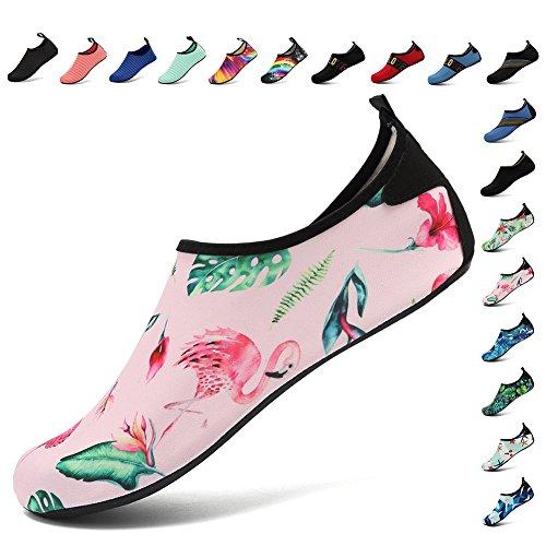 Sports Dry Quick Women Barefoot Lightweight Fanture pink Water and Breather Shoes Multifunctional Skin Slip Aqua Men Anti N qv0p8wg0