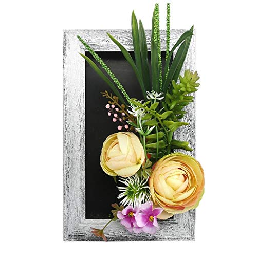 Succulents Artificial Plant Photo Frame,Calla Lily Tulip,Rose, Wall Decoration,Living Room Wall Photo Frame, Home Decor Pendant, Artificial Plant Wall Hanging, Stereo Photo Frame, Frame,Plant Photo Fr Calla Lily Lily Photo Album