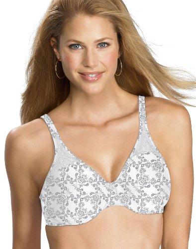 - Bali Passion for Comfort Minimizer Underwire Bra, Silver Lace, 36DDD