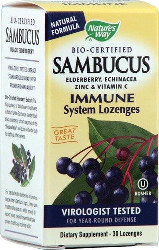 Nature's Way Sambucus Immune Lozenge - 30 Ct, 3 Pack