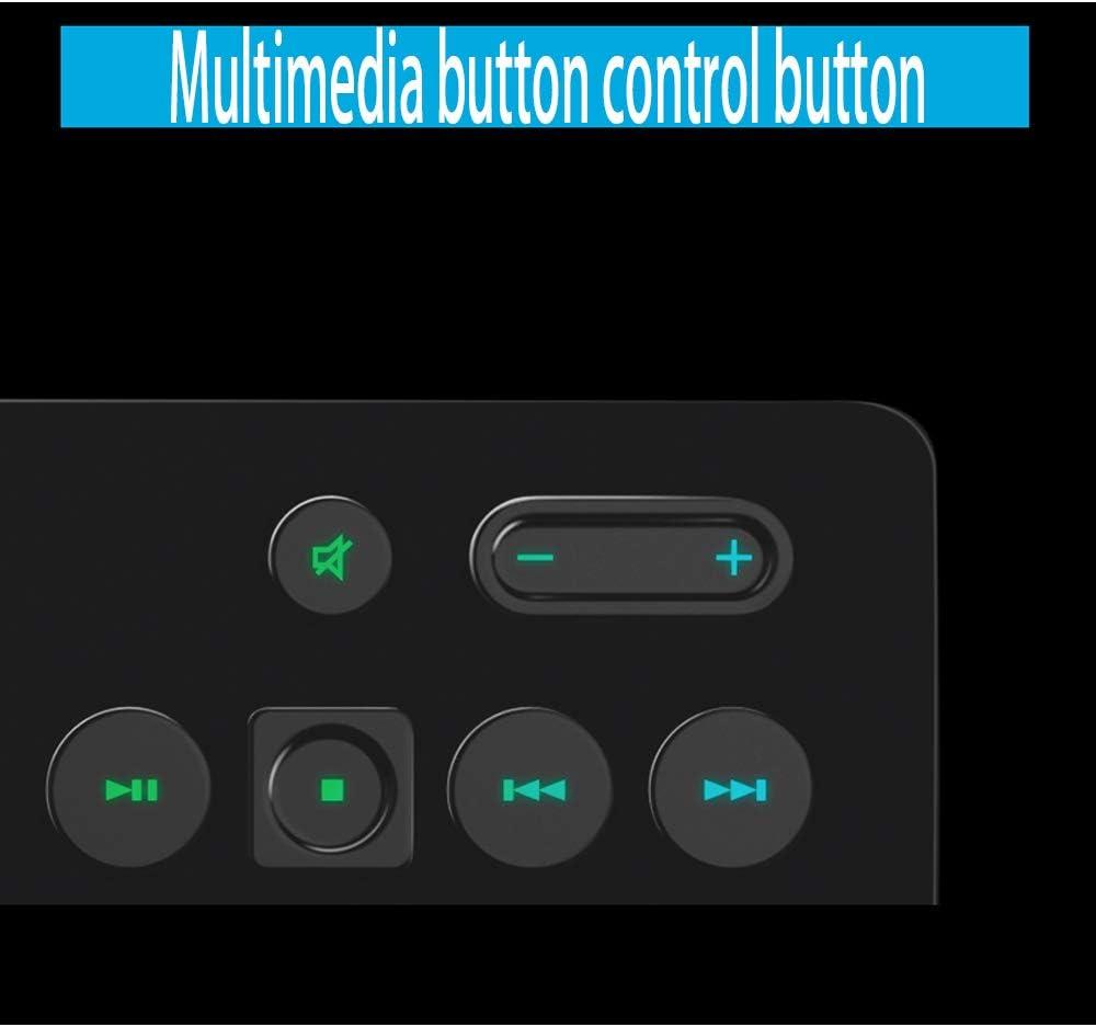 Xiao Jian Computer Keyboard RGB Backlight USB Interface Keyboard Game Esports Network Coffee Special Keyboard Waterproof Keyboard with Hand Rest Keyboard