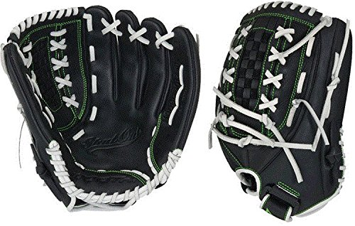 Worth Shutout Series Softball Glove, Left Hand Throw, 12.5
