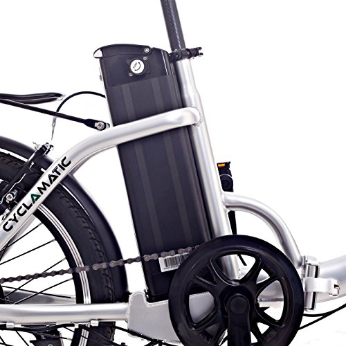 Cyclamatic CX2 Bicycle Electric Foldaway Bike with Lithium-Ion Battery by Cyclamatic (Image #5)