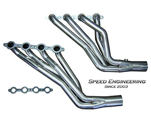 Dual Pipes Header - Silverado & Sierra 1 3/4
