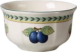 Villeroy & Boch French Garden Fleurence 4in Bowl, 20 oz, Premium Porcelain, White/Colored