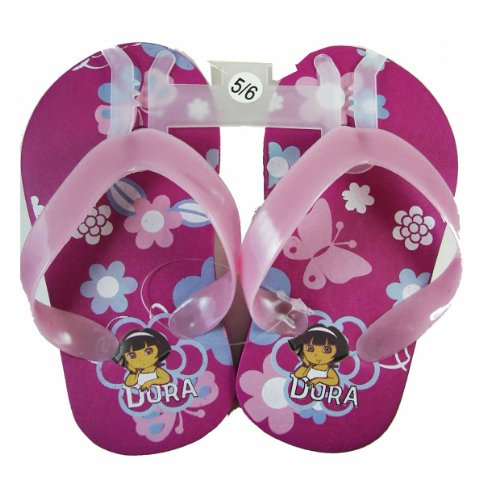 Purple and Pink Dora the Explorer Sandals (Size 5/6)- Size 5/6 Dora Shower